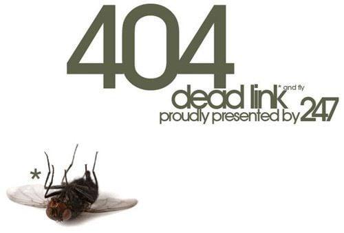 404 dead link