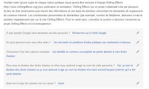 Signaler contenu illicite à google