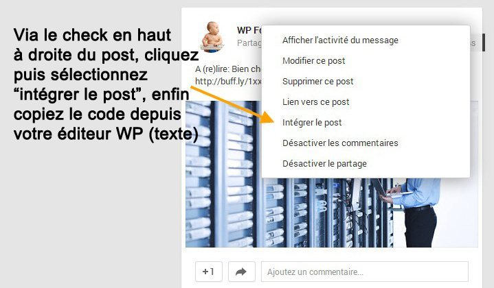 ajouter-post-google-plus-WordPress