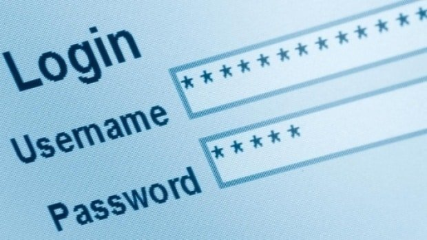 login-username-password wordpress