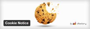 Un plugin à installer pour prévenir de l'utilisation des cookies
