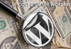 Le cout d'un site WordPress ?
