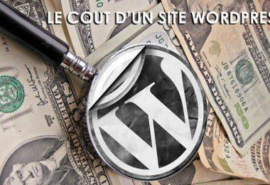 Le cout d'un site WordPress ?