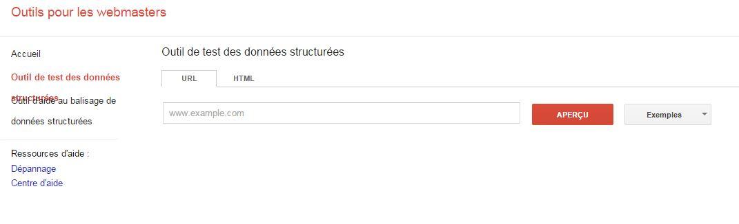 google webmaster tools est là pour analyser au mieux les rich snippets