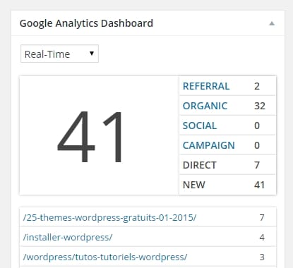 analytics real time