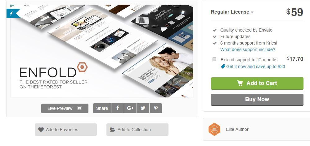 theme wordpress enfold