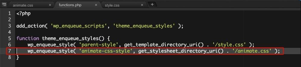 Créer un fichier functions.php