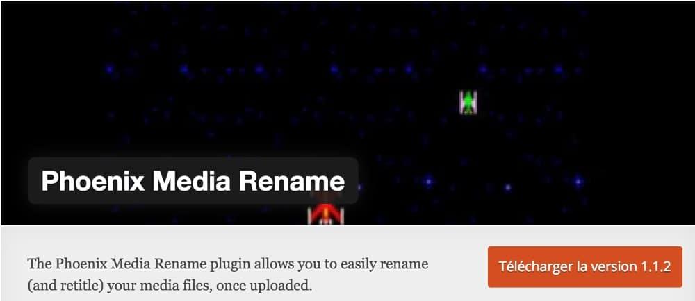Plugin Phoenix Media Rename
