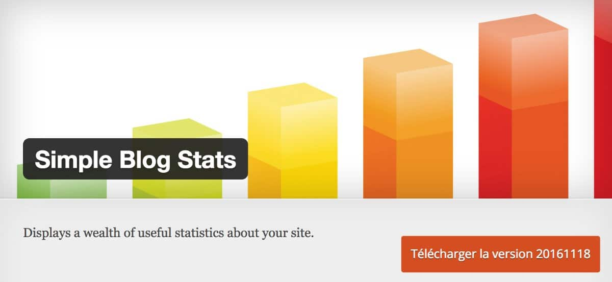 Plugin WordPress - Simple Blog Stats