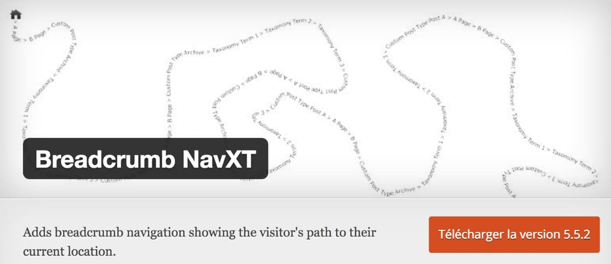 Plugin WordPress - Breadcrumbs NavXT
