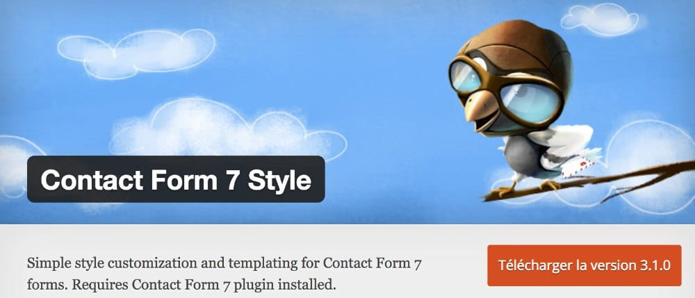 Add-on Contact Form Style