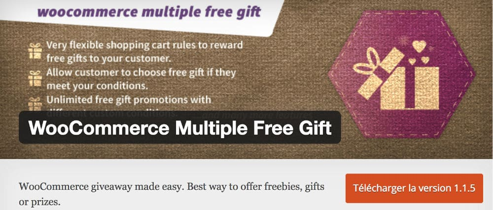 Plugin Multiple Gifts Woocommerce