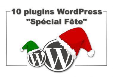 10 plugins de Noël Wordpress