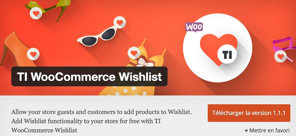 Plugin Whishlist Woocommerce