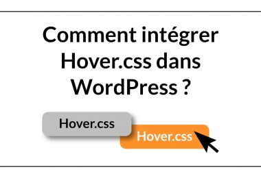 Hover CSS et WordPress
