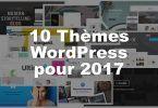 Thèmes WordPress pour 2017