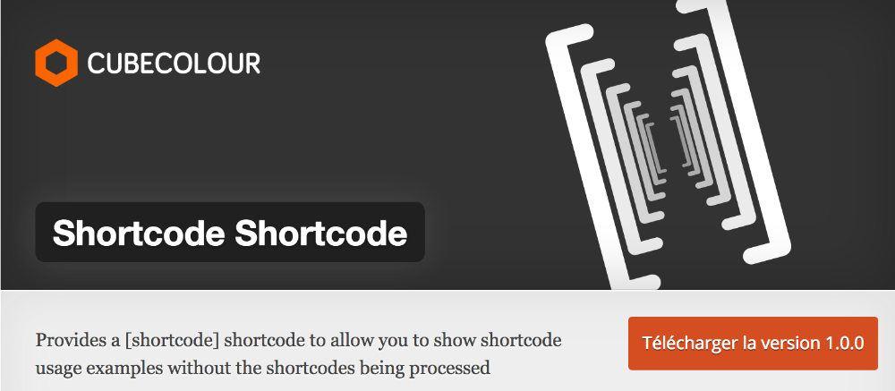 Shortcode Shortcode