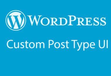 wordpress-CPT-UI