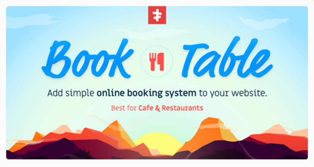 Book a table - plugin WordPress