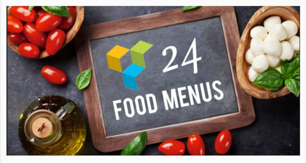 Food Menu addon pour Visual Composer