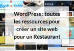 Site web restaurant image