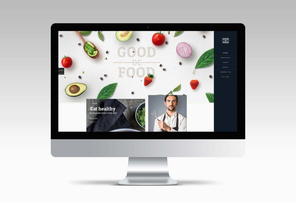 theme wordpress food 2