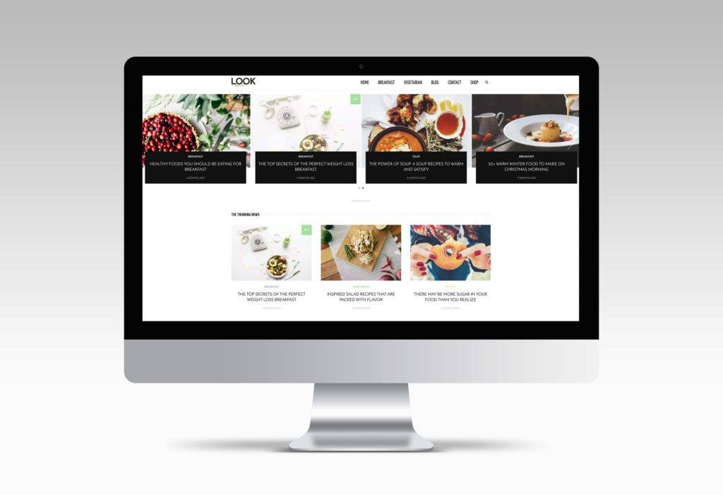 theme food wordpress
