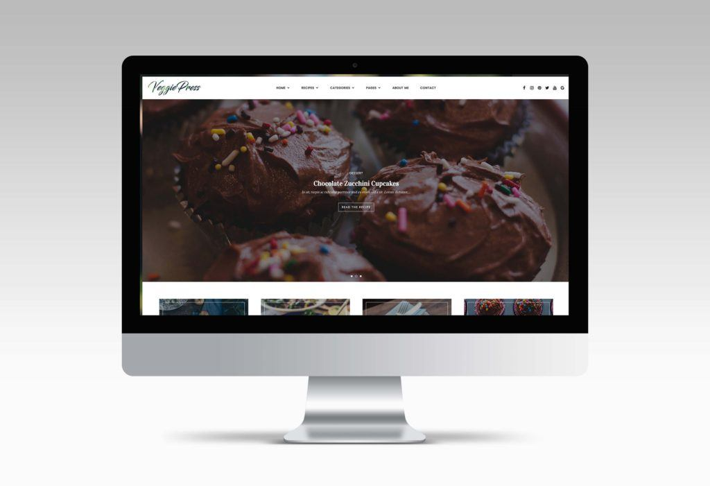 food theme wordpress