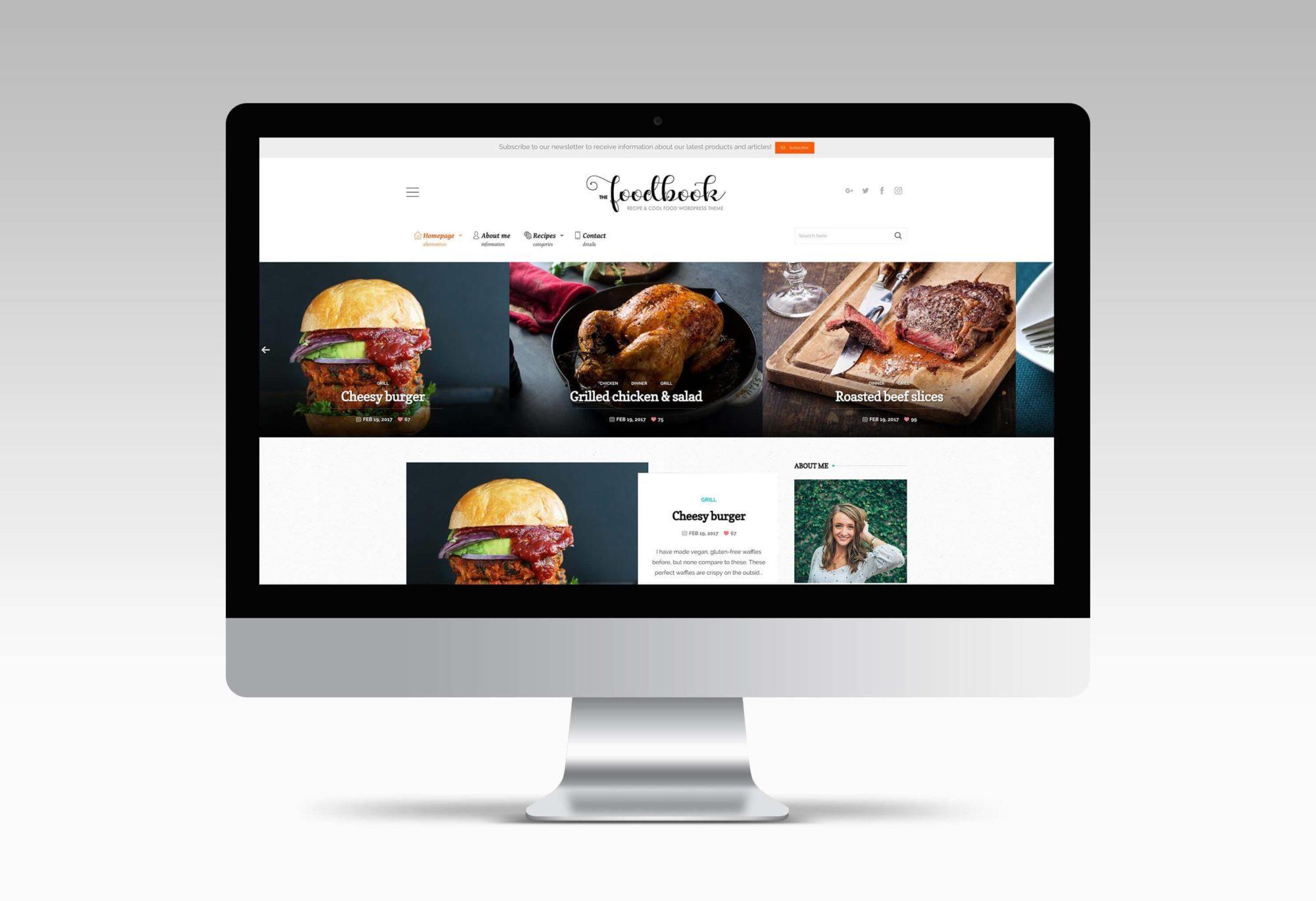 meilleur food theme WordPress