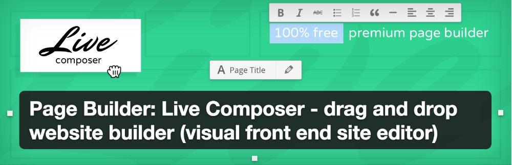 Plugin Live Composer