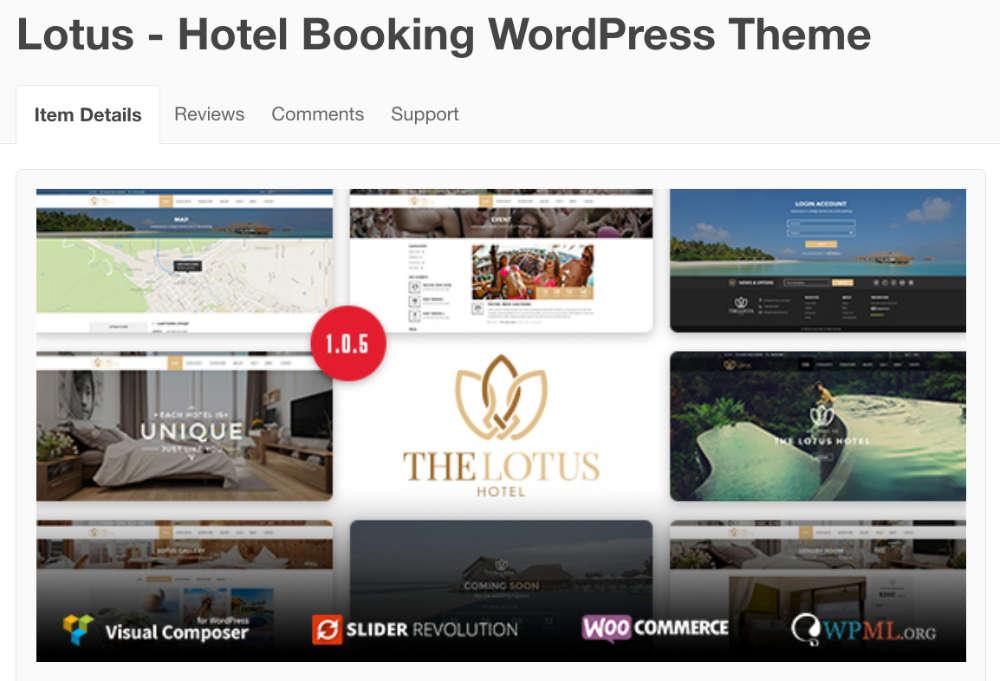 Thème WordPress LOTUS