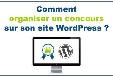 Organiser un concours sous WordPress