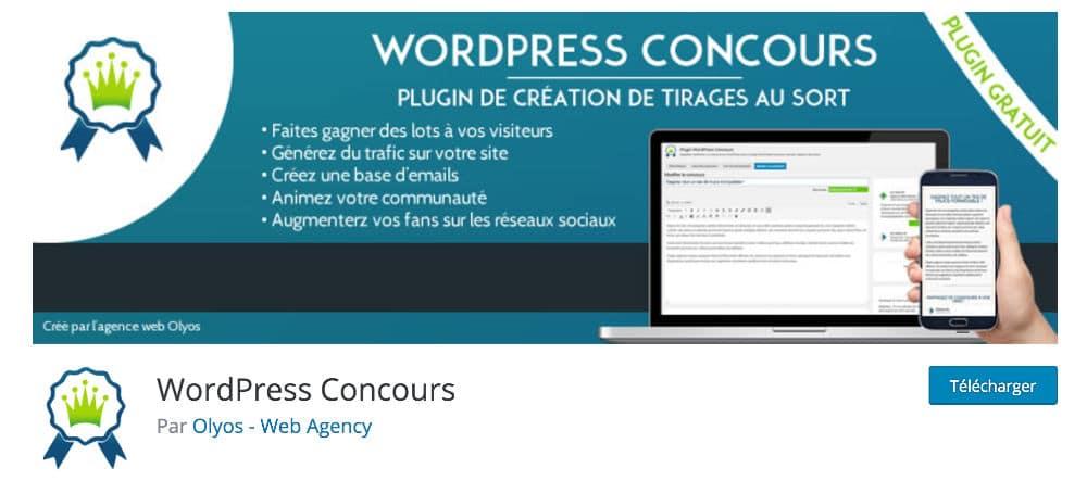 Plugin WordPress Concours