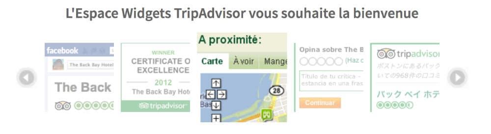 Widget Trip Advisor