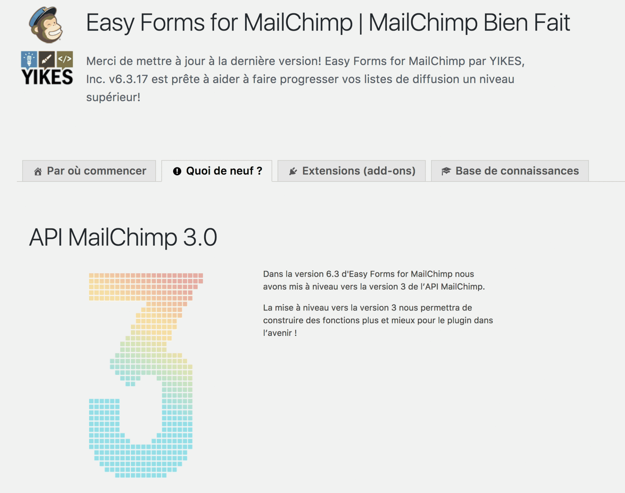 Easy Forms MailChimp 1