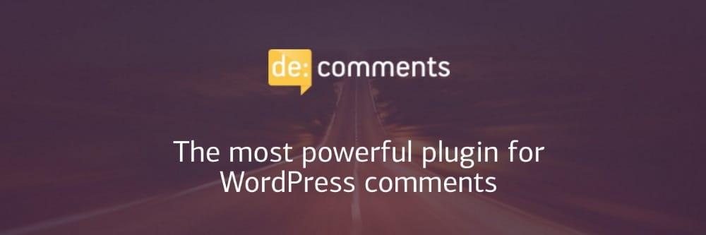 de:comment plugin WordPress