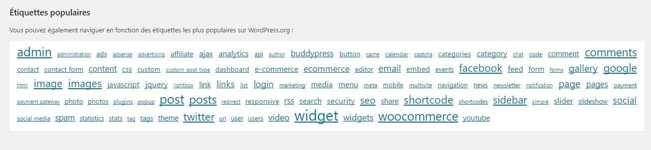 3 tags comment installer un plugin WordPress