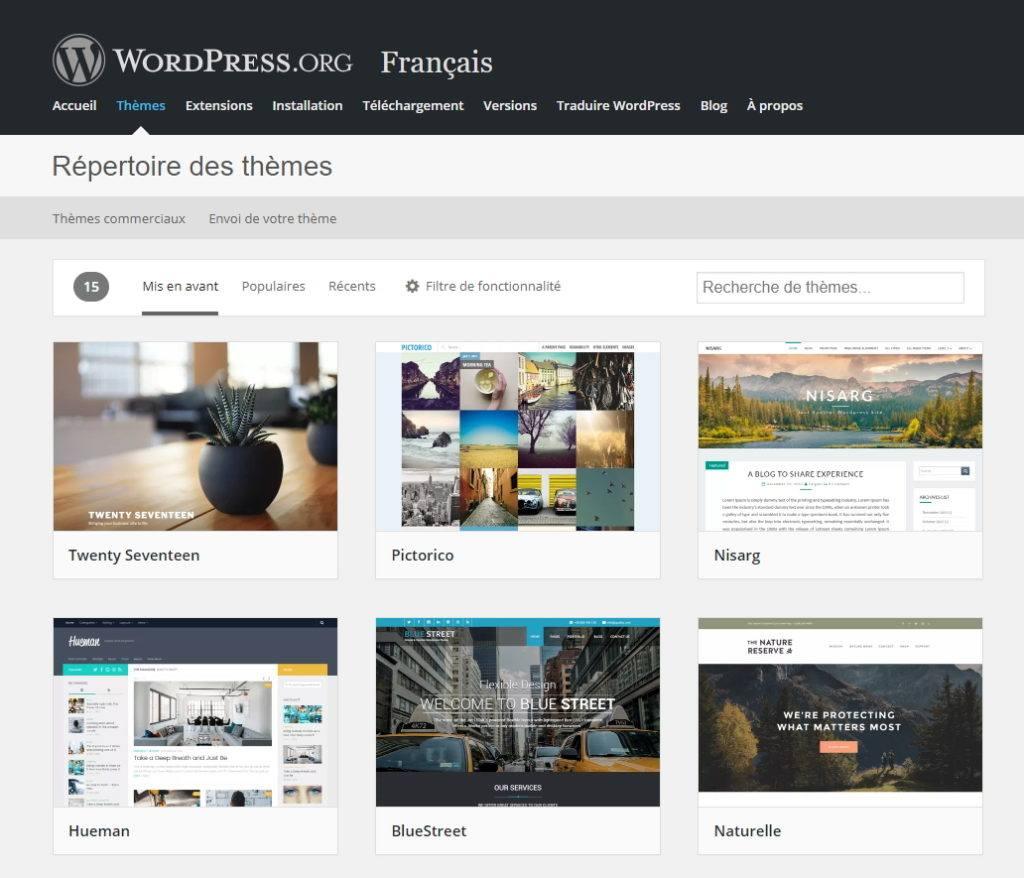 installer theme wordpress 1 Comment installer un thème WordPress gratuit ou premium ?