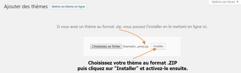 installer theme wordpress 7 Comment installer un thème WordPress gratuit ou premium ?