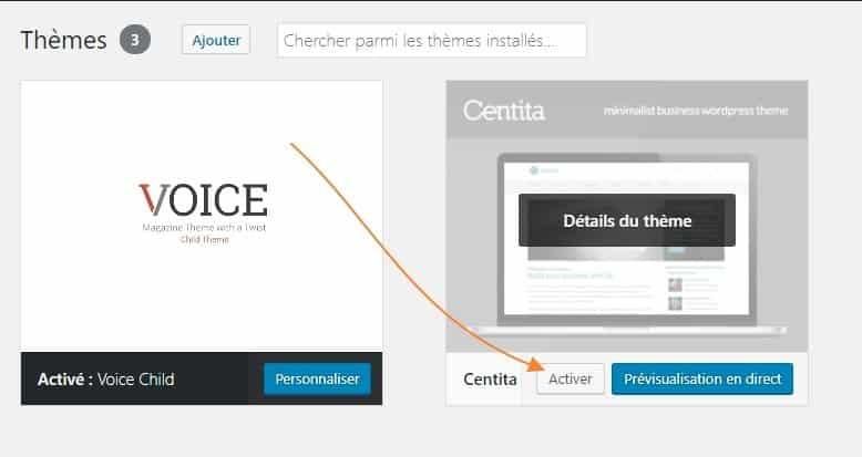 installer theme wordpress 8 Comment installer un thème WordPress gratuit ou premium ?
