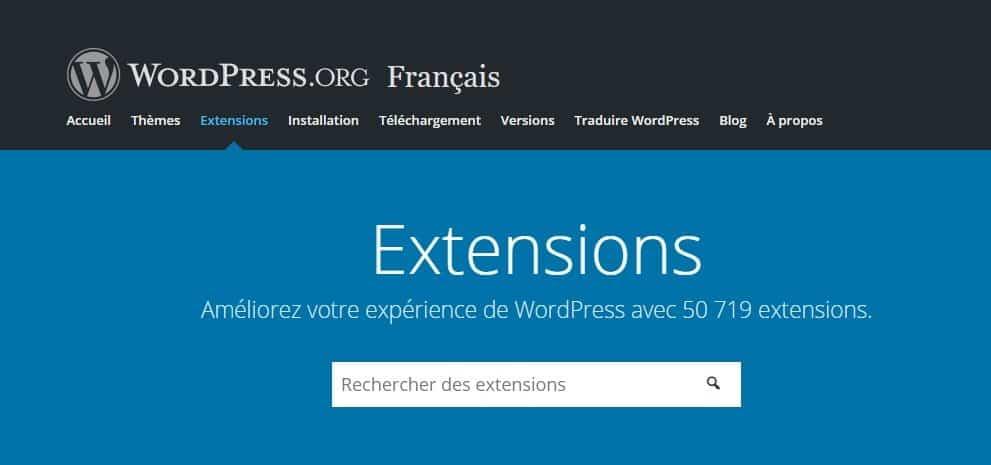 wordpress org plugins installer un plugin