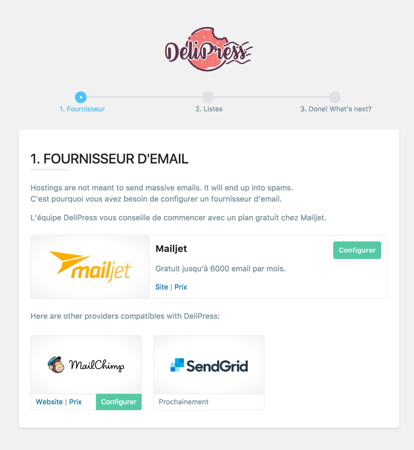 delipress fournisseurs email