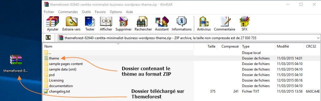 installer theme themeforest Comment installer un thème WordPress gratuit ou premium ?