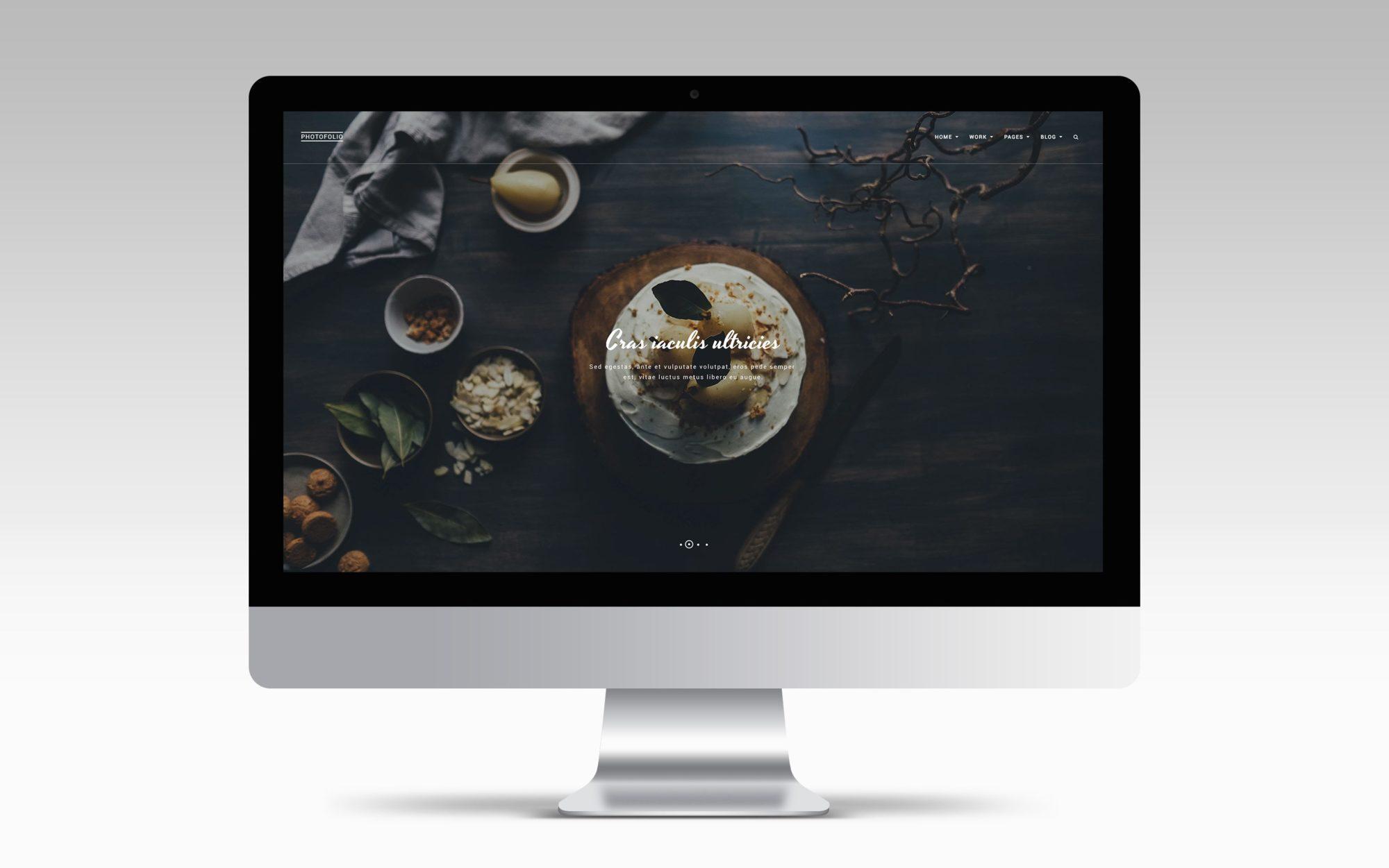 photofolio thème wordpress photographe