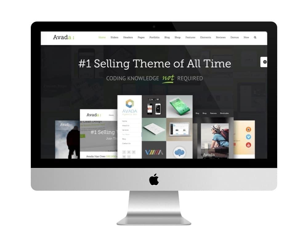 Thème Avada - meilleure vente de themes premiums