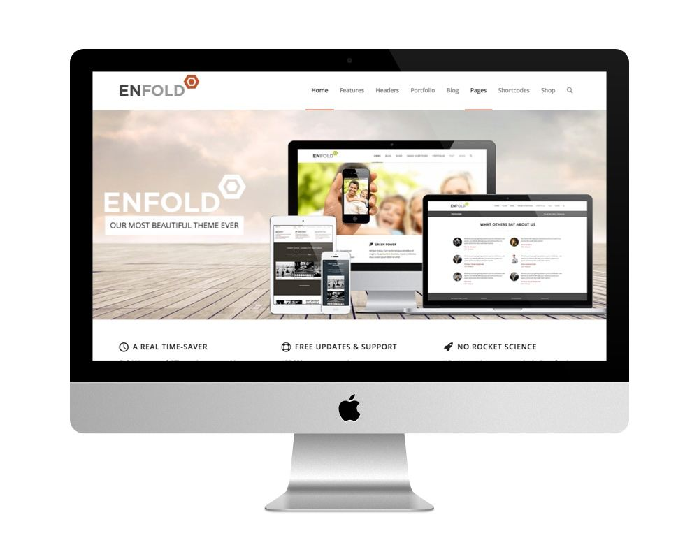 Thème Enfold - meilleure vente de themes premiums