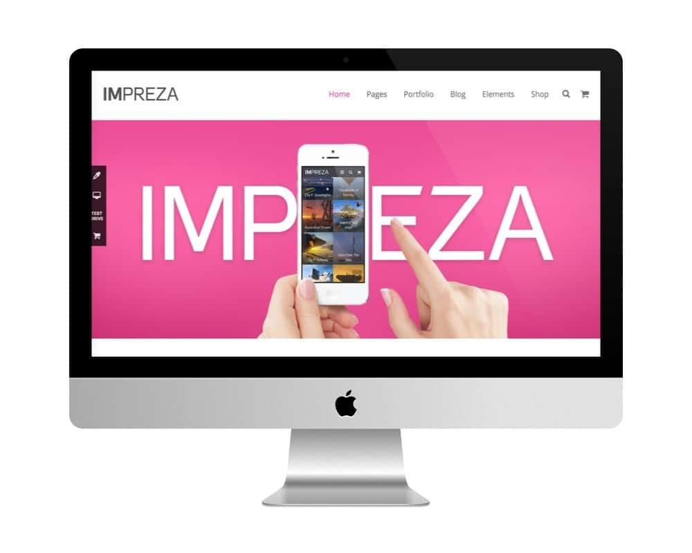 Thème Impreza - meilleure vente de themes premiums