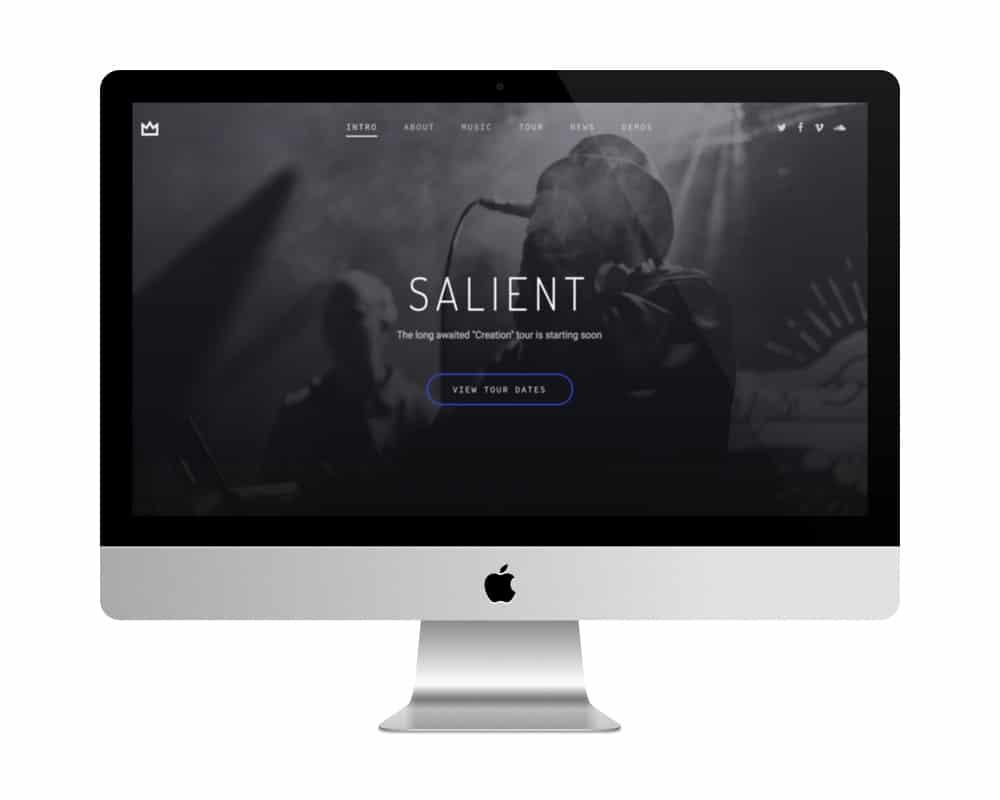 Thème Salient - meilleure vente de themes premiums
