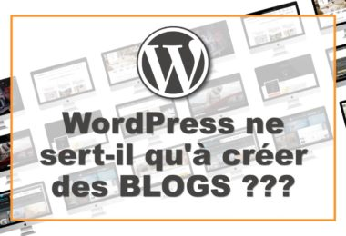 Sites créés sous WordPress