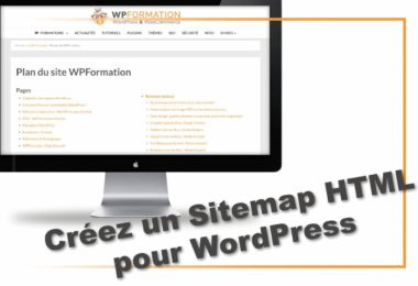 Plan de site - sitemap HTML
